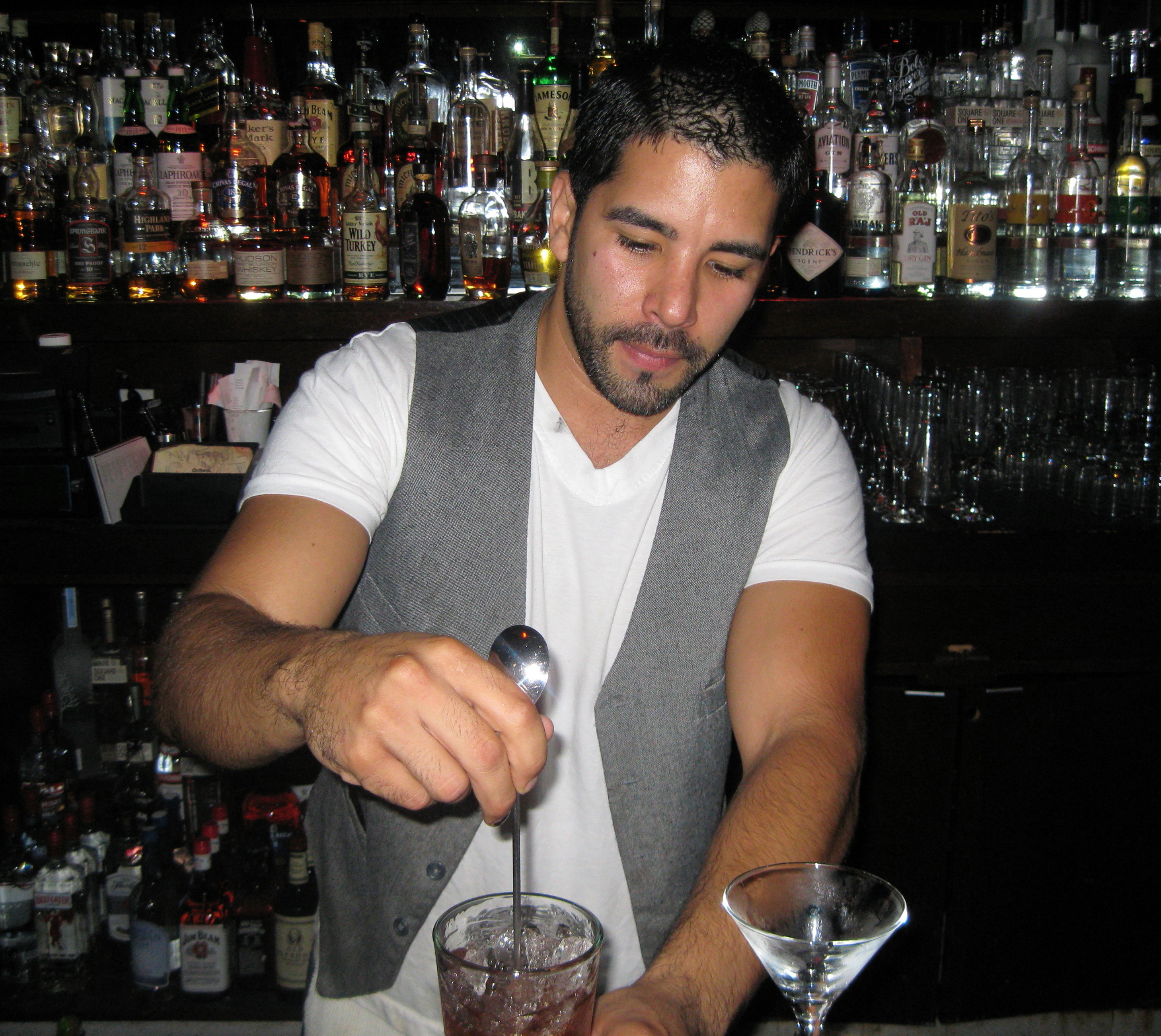 Hot Bartender Crawl in DTLA | The Minty