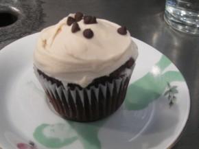 brownie gluten free cupcake
