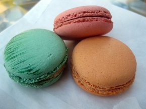 macarons from Paulette