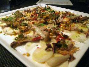 Argentine Mushroom Carpaccio