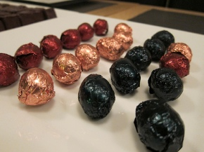 Damian Allsop chocolate eggs