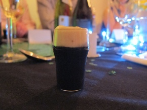 amuse bouche - mini Guinness