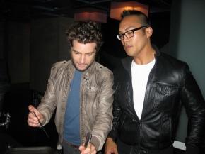 Marcel Vigneron & Devon Espinosa, stars of Marcel's Quantum Kitchen