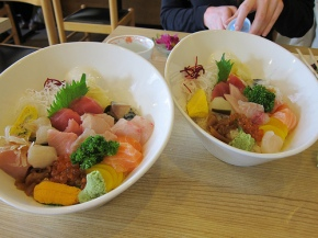A Tale of Two Chirashi Bowls