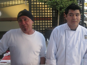 Chef Laurent & Sous Chef