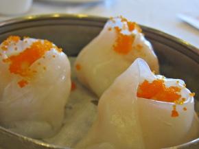 scallops dumplings