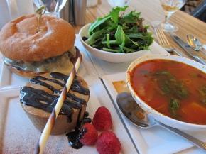 lunch at Vela