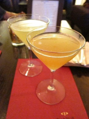 cocktails at Charlie Palmer