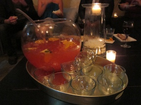punch at Crescent Hotel
