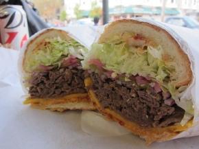 Rhea's Korean Steak Sandwich