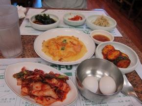 banchan spread