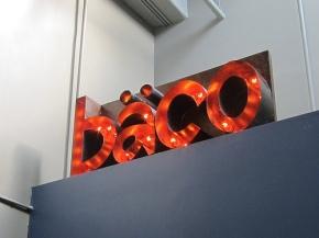 Baco Mercat sign