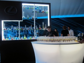 The Lexus Bar at the LAFW Grand Tasting