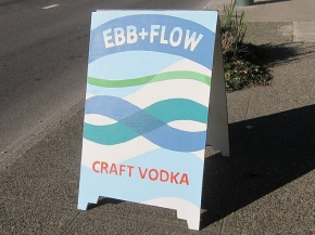 Sound Spirits' Ebb + Flow Craft Vodka & Gin