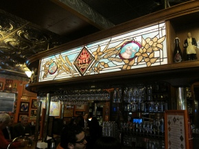 the bar at Pike Brewing Company