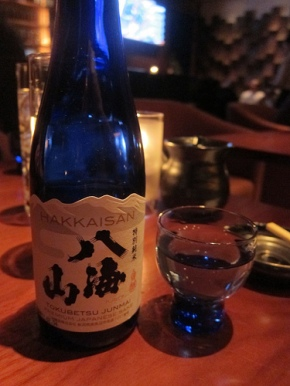 sake at Blue Ribbon