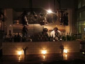 Eat.Drink.Americano's open kitchen