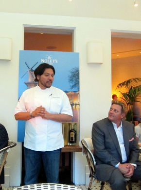 Chef Ray Garcia with Karl Nolet