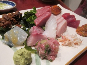 The $15 sashimi lunch