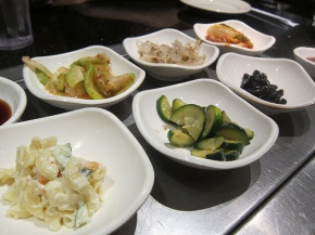 banchan at Shilla