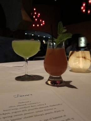 cocktails at Aziza