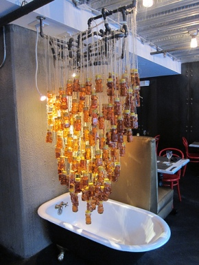 honey bear bathtub sculpture