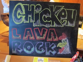 The Coop: Chicken Lava Rock