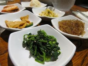 banchan at Moon Dae Po 2