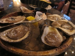 oysters at Royal House