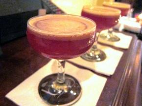 Pecan Manhattans at Big Bar