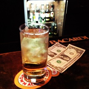 $2.50 happy hour at King Eddy
