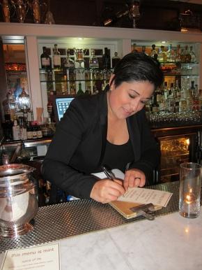 Hot Bartender Nominee Rosie Ruiz