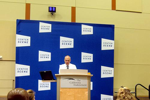 Mark Bittman at the California Endowment Center Scene Lecture