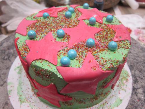 my finished cake