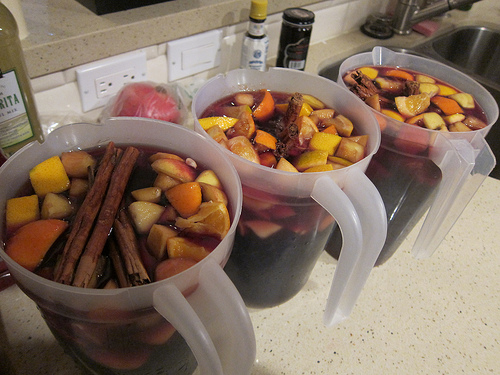 The Minty's Christmas Sangria