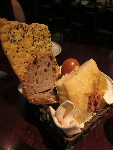 old school bread basket