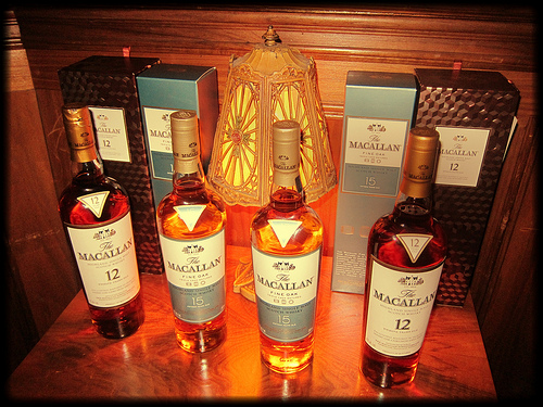 Macallan 12, 15 and 18 YO