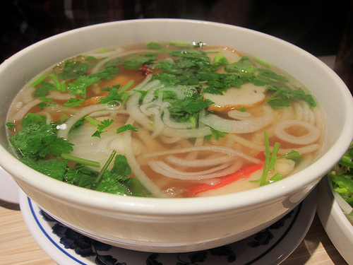 mixed seafood pho
