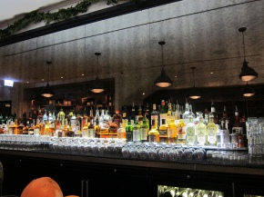 the bar at Little Goat