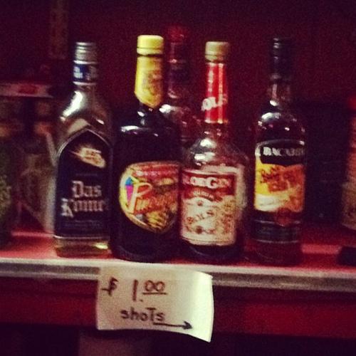 random $1 shots