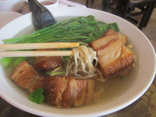 pork belly noodles