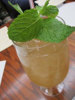 Iced Mint Chrysanthemum Tea