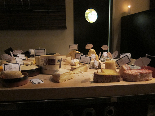 the famous LQ cheese cart