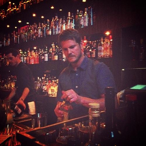 Noble Experiment Bartender Eric Johnson