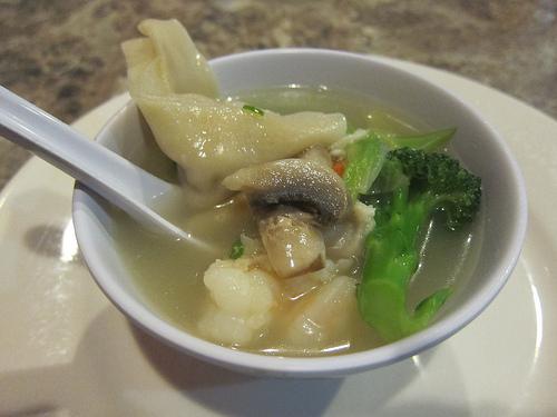 shrimp & wonton soup