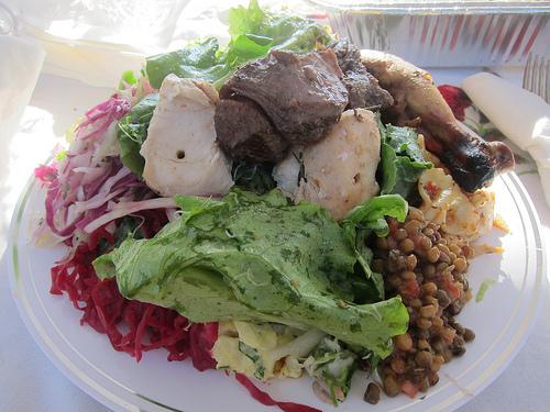 Earth Day feast