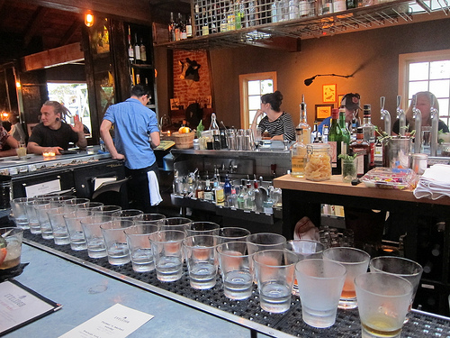 picklebacks at Eveleigh means mezcal