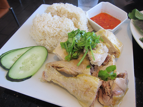 Hainan chicken- Vietnamese style