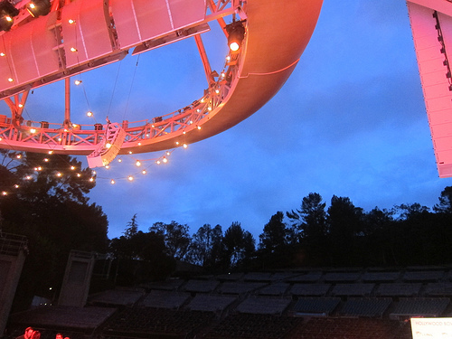 The Minty onstage at the Hollywood Bowl