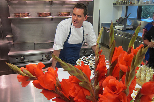 Chef Dave Hands at Bouchon
